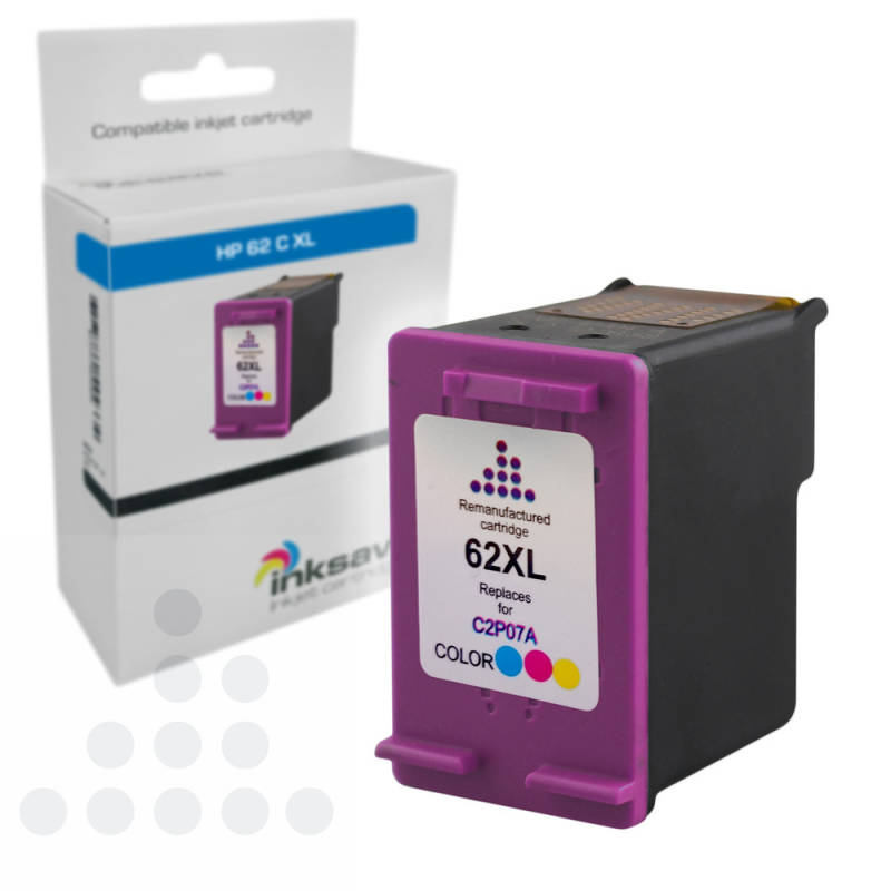 Inksave HP 62C XL