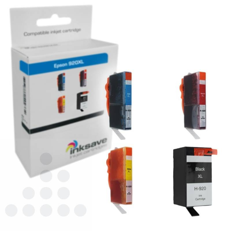 Inksave HP 920 XL Multipack
