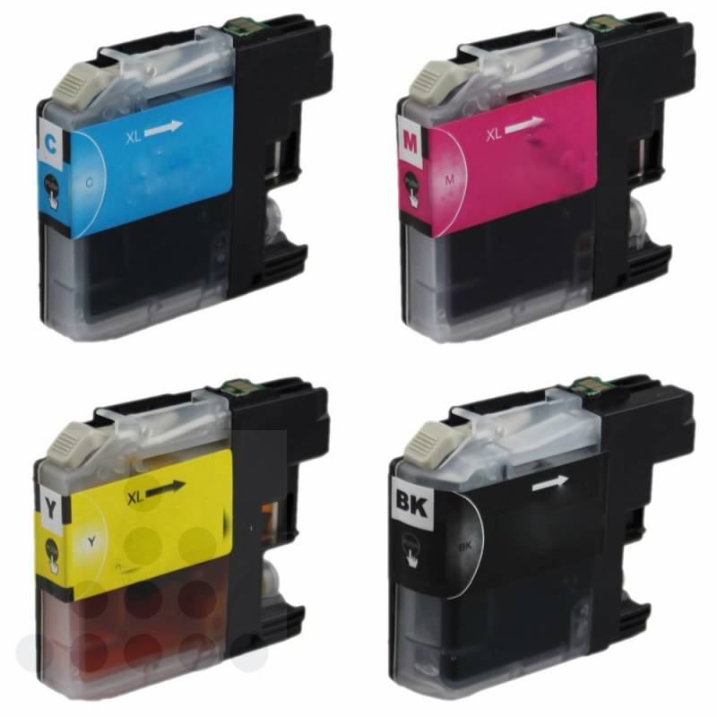Inksave Brother LC 223 Multipack