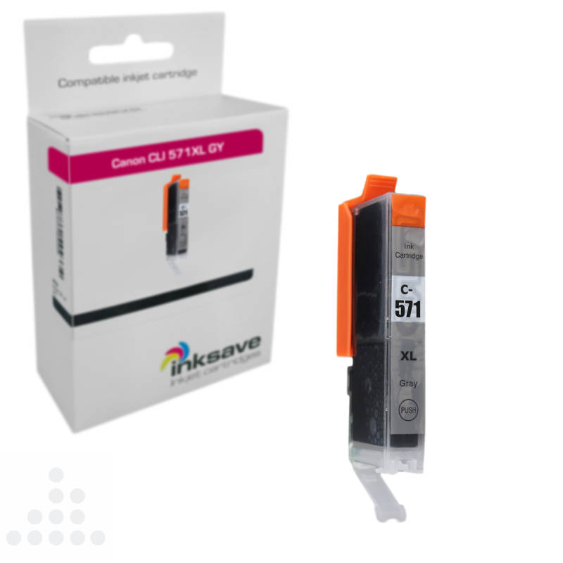Inksave Canon CLI 571 GY XL