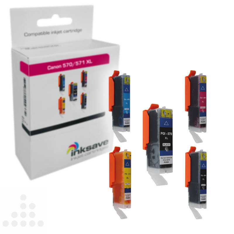 Inksave Canon 570/571 XL Multipack (5)