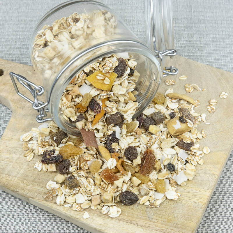 Muesli fruit 750 gr.