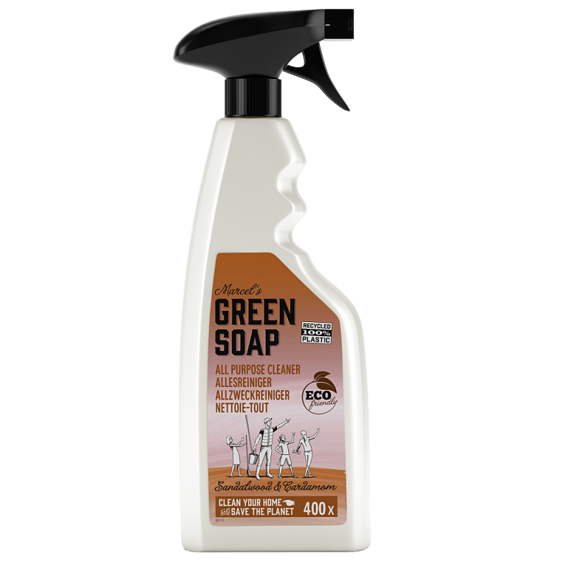 Marcel's green soap - allesreiniger spray 500 ml - sandelhout & kardemom