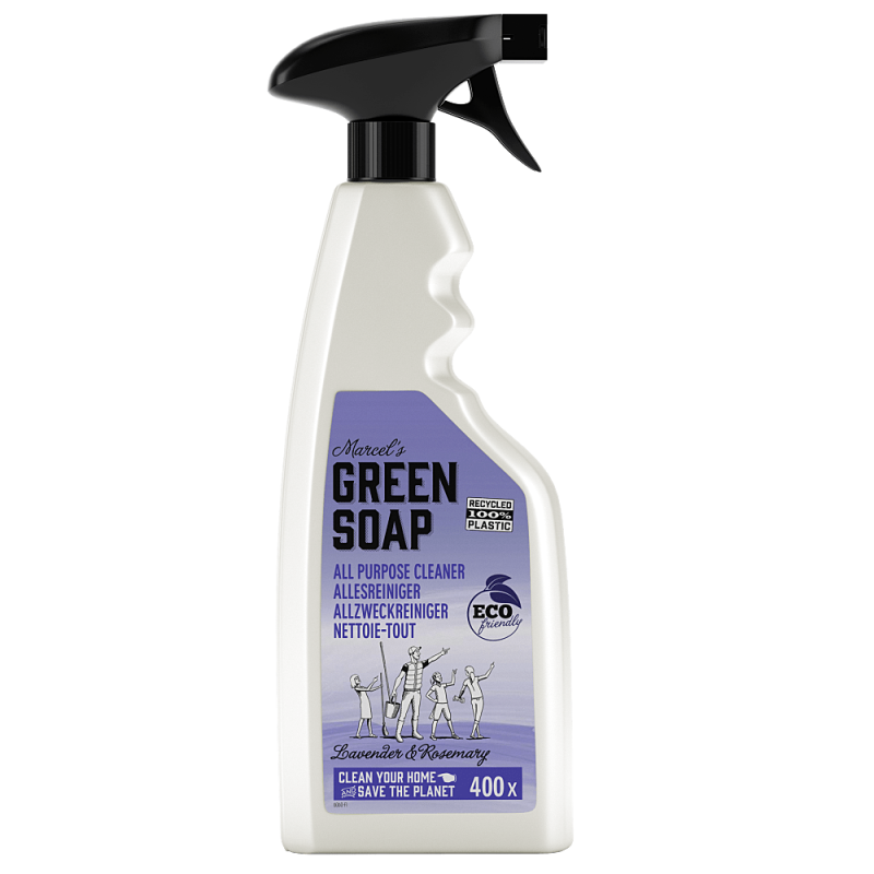 Marcel's green soap allesreiniger - spray 500 ml - lavendel & kruidnagel