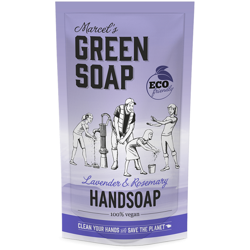 Marcel's green soap - refill handzeep 500 ml - Lavendel & Kruidnagel