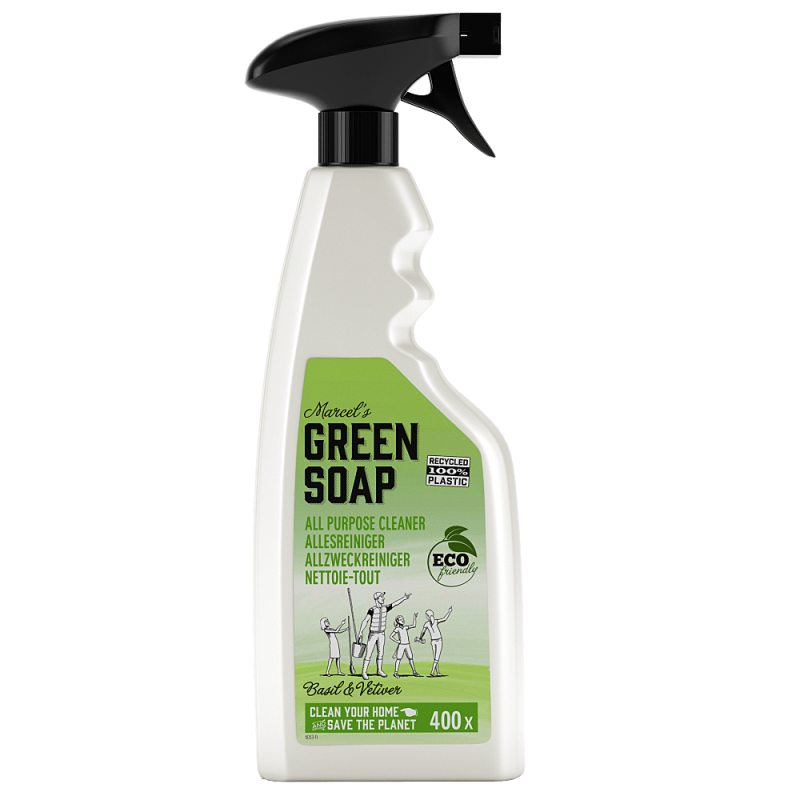 Marcel's green soap - allesreiniger spray 500 ml - basilicum & vertiver gras