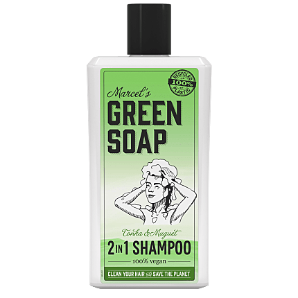 Marcels green soap Shampoo - 500 ml - Tonka & muguet