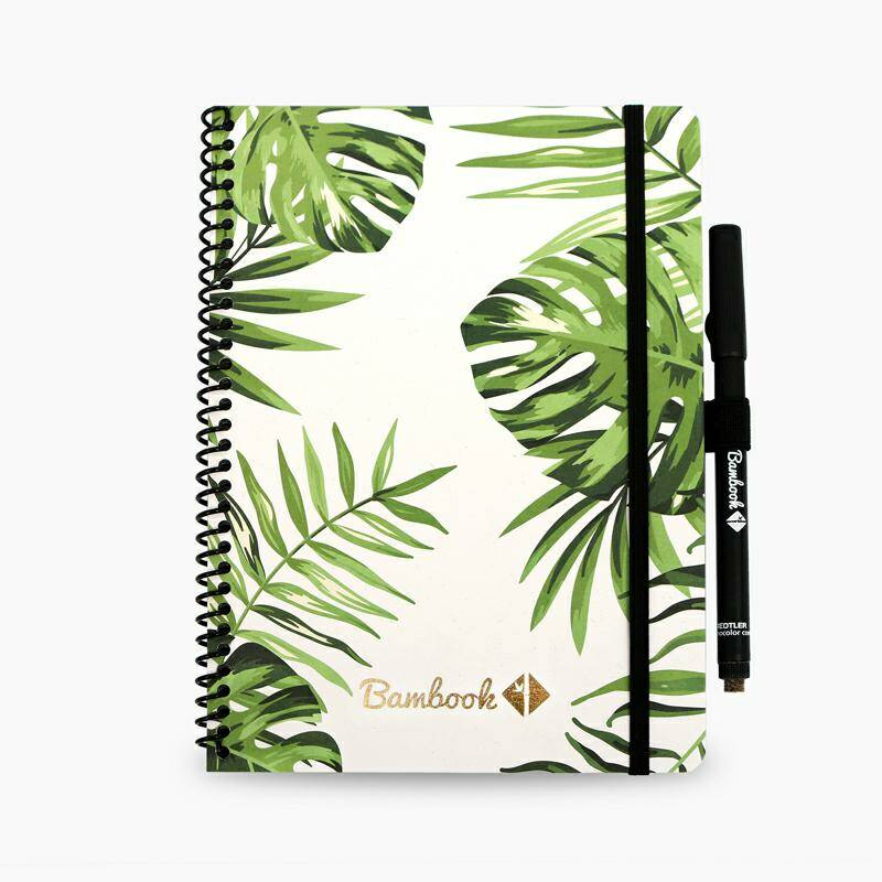 Notitieboek whiteboard - Bambook - A5 - Gelinieerd/ Blanco - Tropical/ softcover