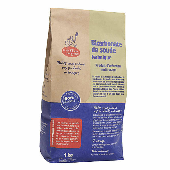 Baking soda/ zuiveringszout - Ecodis - 1 kg