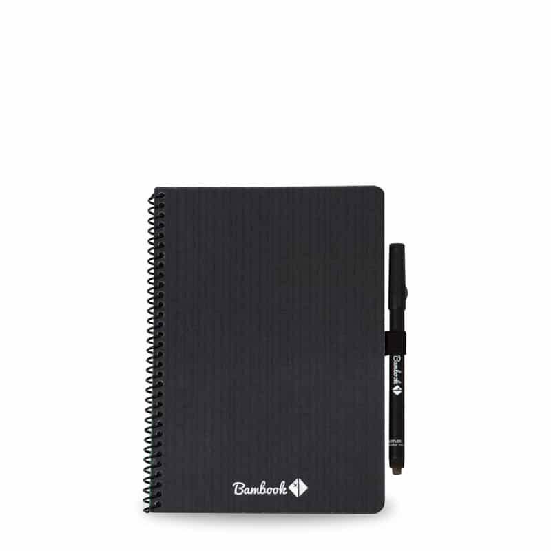 Notitieboek whiteboard  -  Bambook  -  A6  -  gelinieerd/blanco  -  zwart/softcover