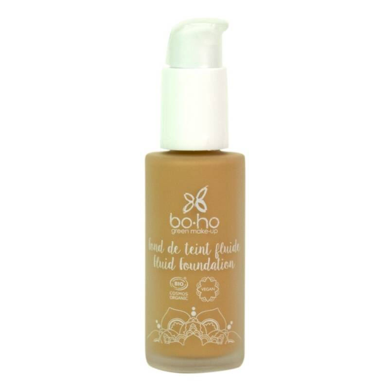 Liquid foundation vegan - Boho - 30 ml - Honey nr 5