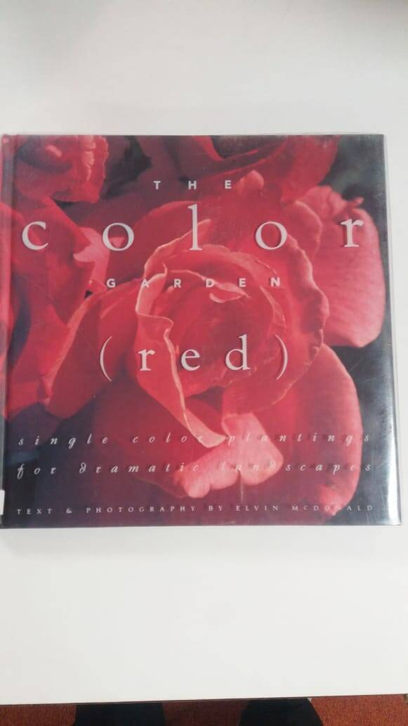 The color garden (red)