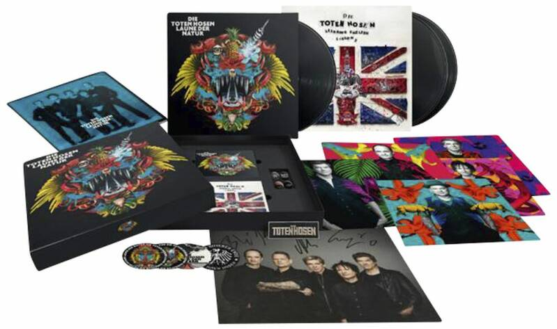 Die Toten Hosen Laune der Natur BOX limited edition ind. numbered copy's
