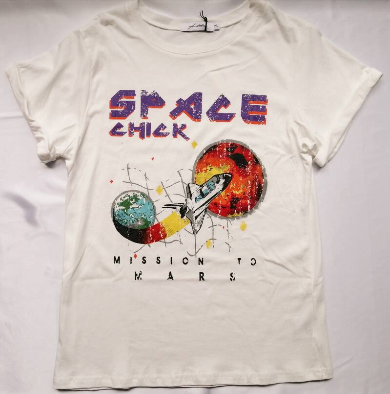 Space Chick Tee