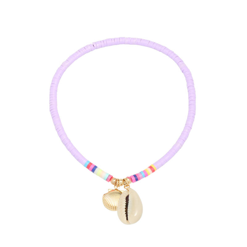 Anklet Beach Day - Purple