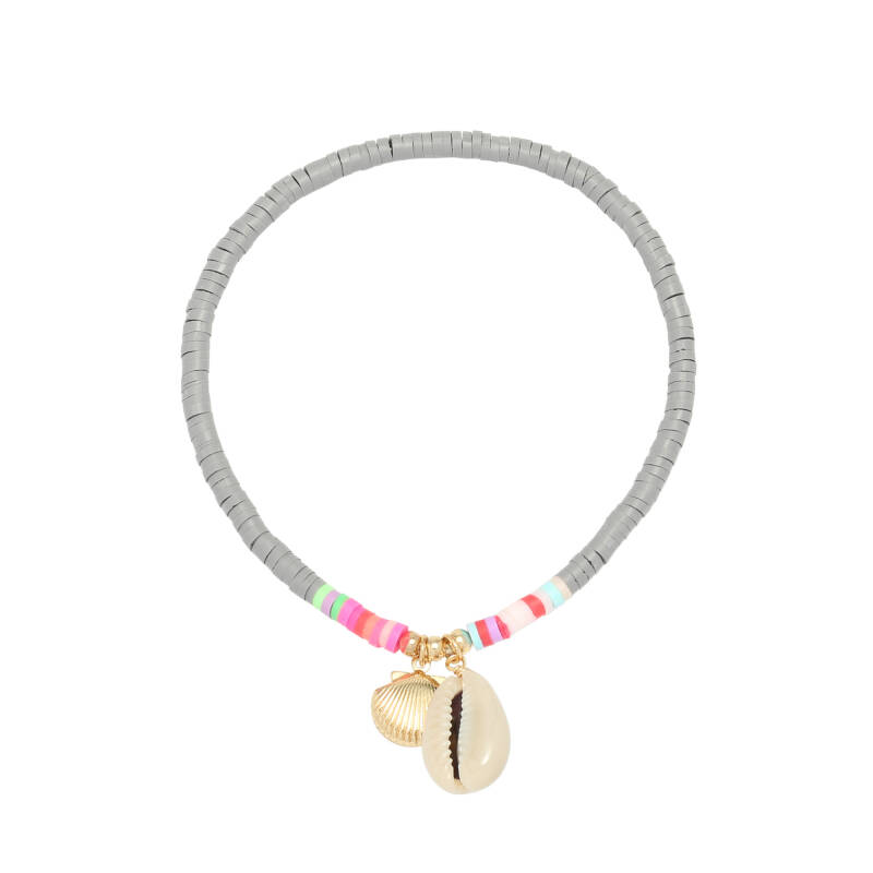 Anklet Beach Day - Gray