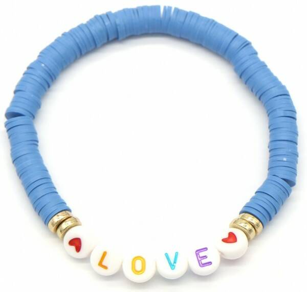 Love Surff Bracelet Blue