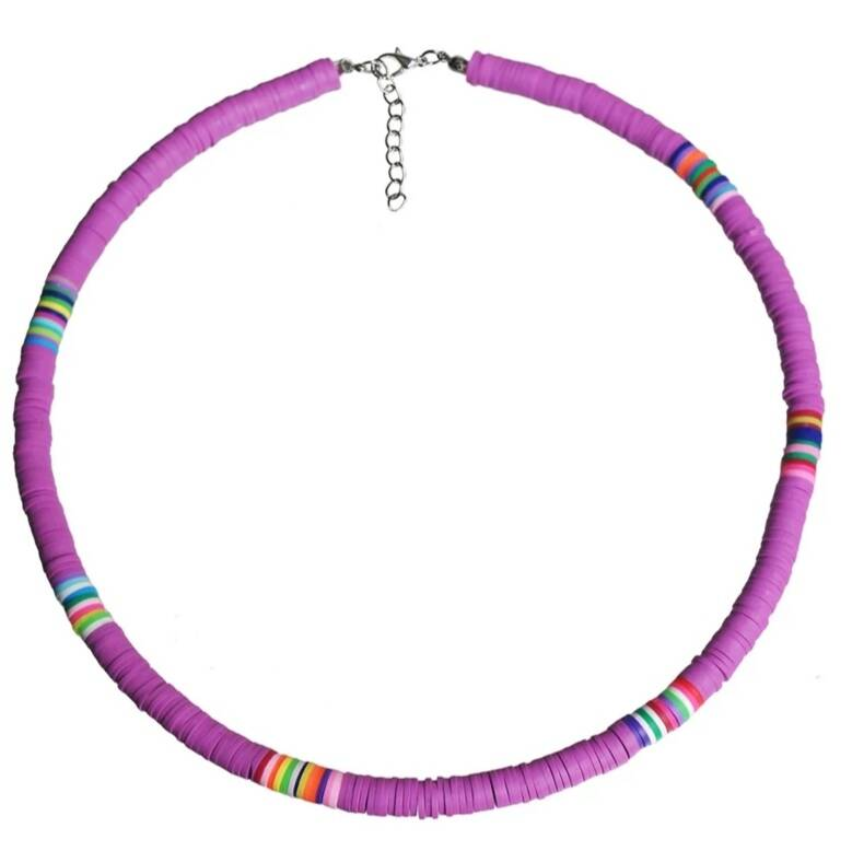 Surff Necklace - Paars