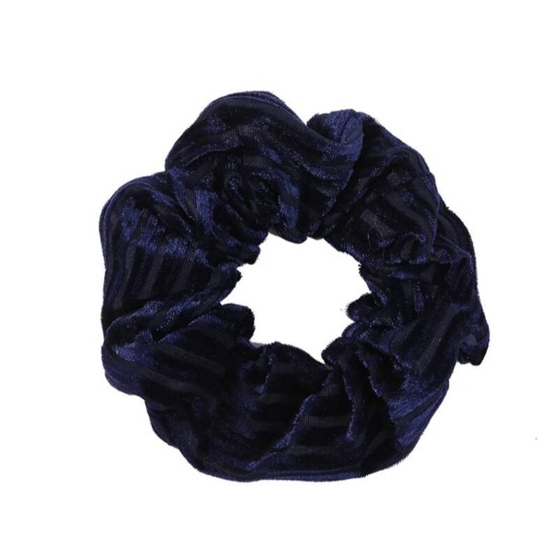 Scrunchie Velvet Blue
