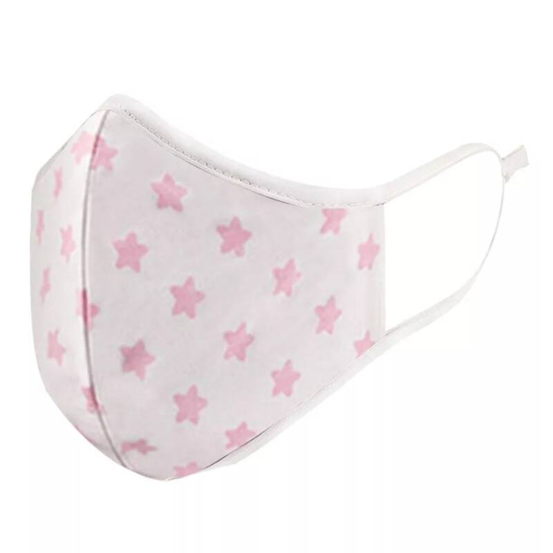 Face Mask - Pink Star