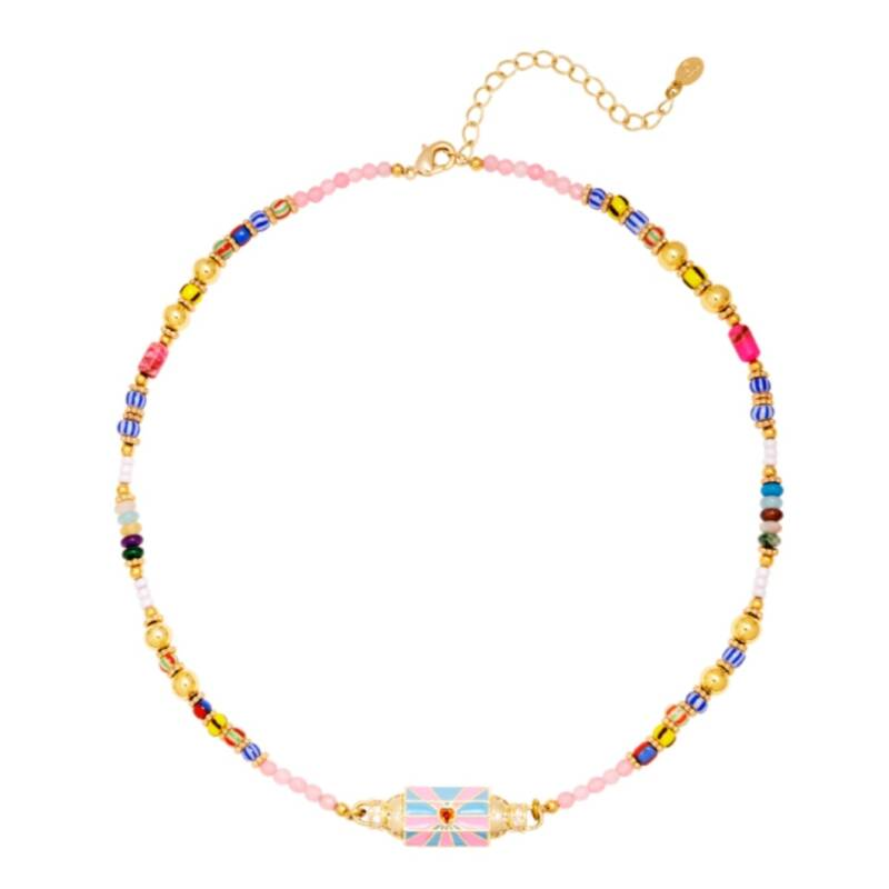 Necklace Colourful Love