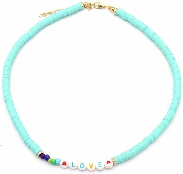 Love Surff Necklace Turquoise