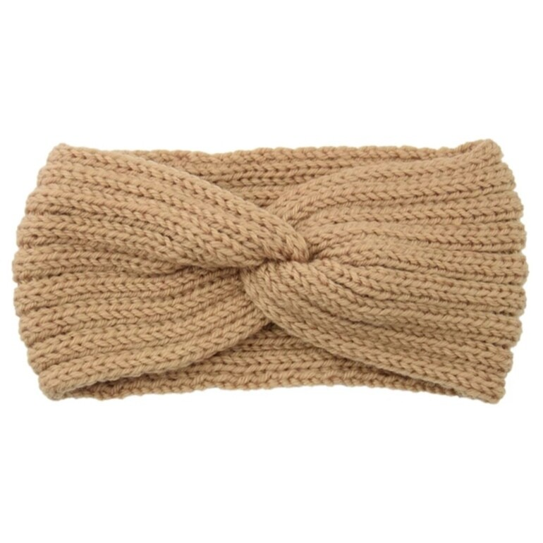 Hairband Winter Glow - Light Brown