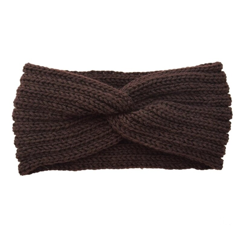 Hairband Winter Glow - Brown