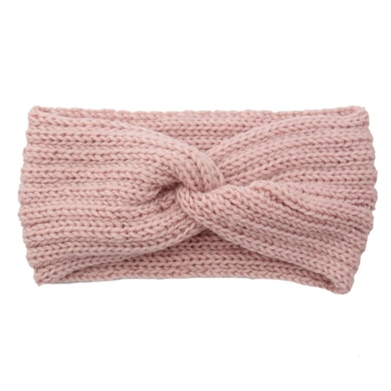 Hairband Winter Glow - Light Pink