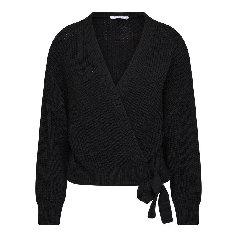 Wrap Cardigan - Black