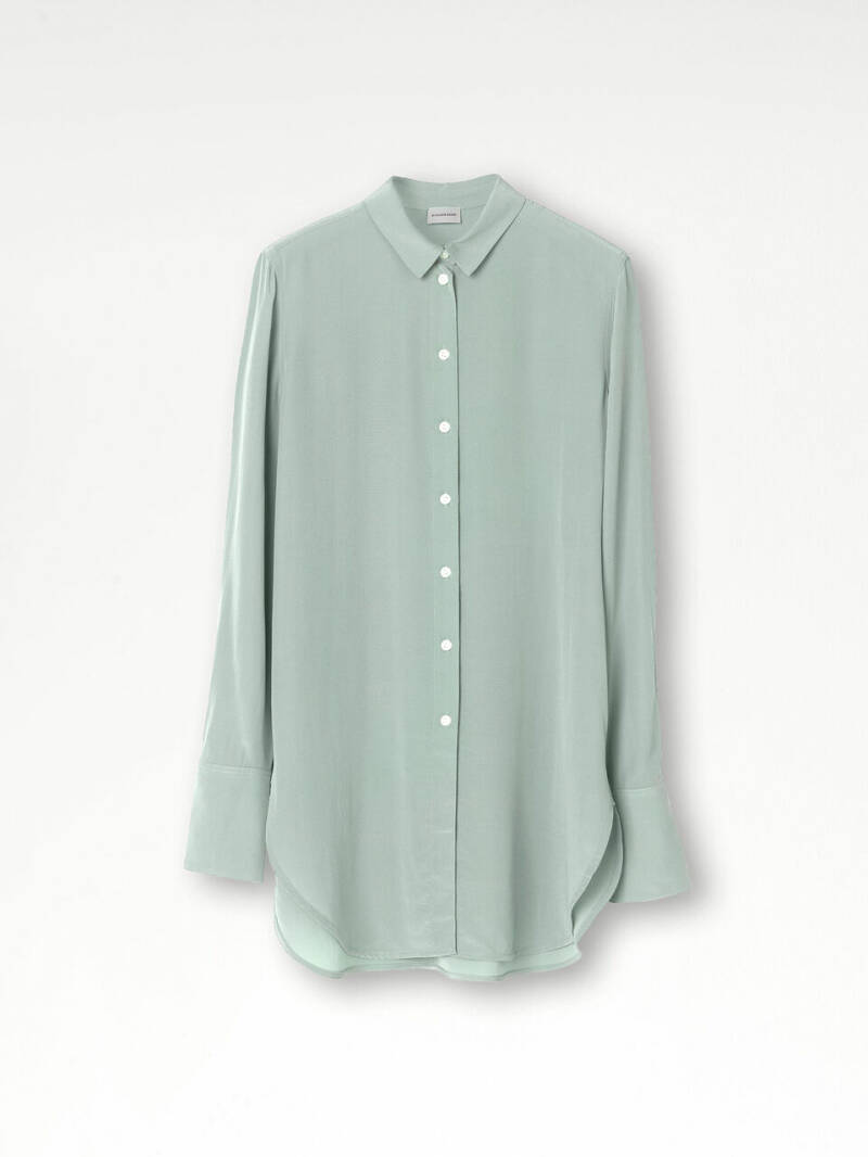 BY MALENE BIRGER COLOGNE SHIRT LILY PAD