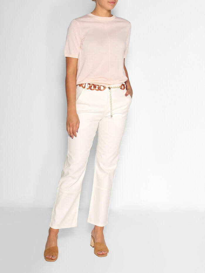 BY MALENE BIRGER HELIAH PANTS WHITE