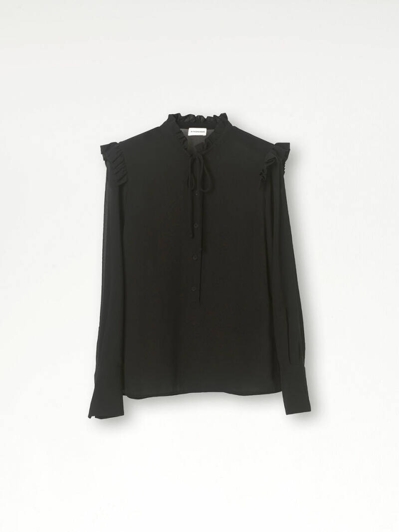 BY MALENE BIRGER WILLOW RUFFLE TOP