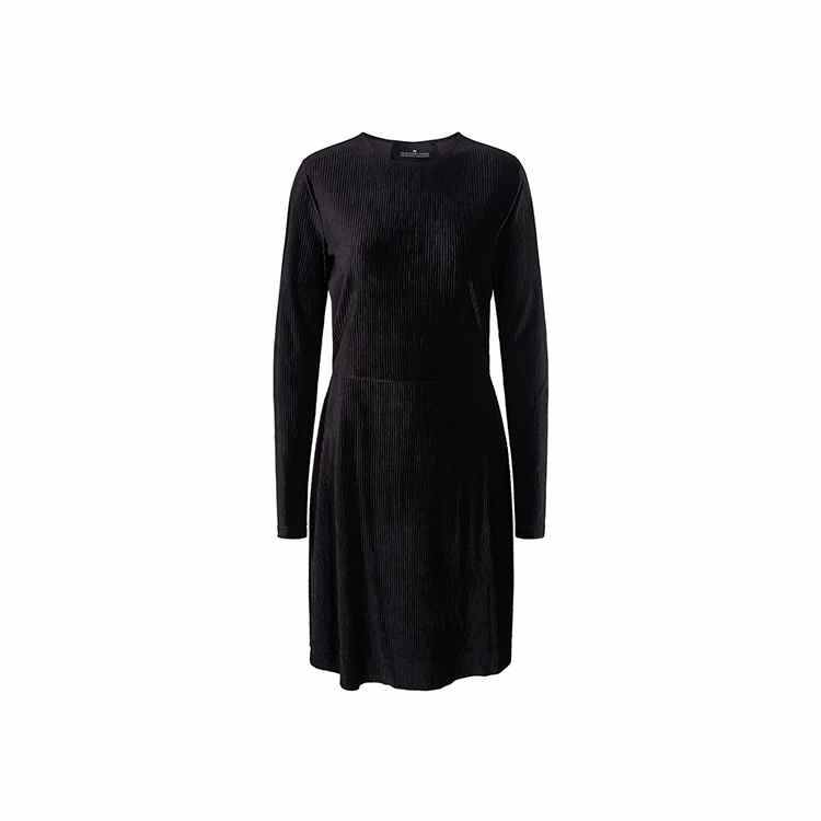 DESIGNERS REMIX HEATHER DRESS BLACK