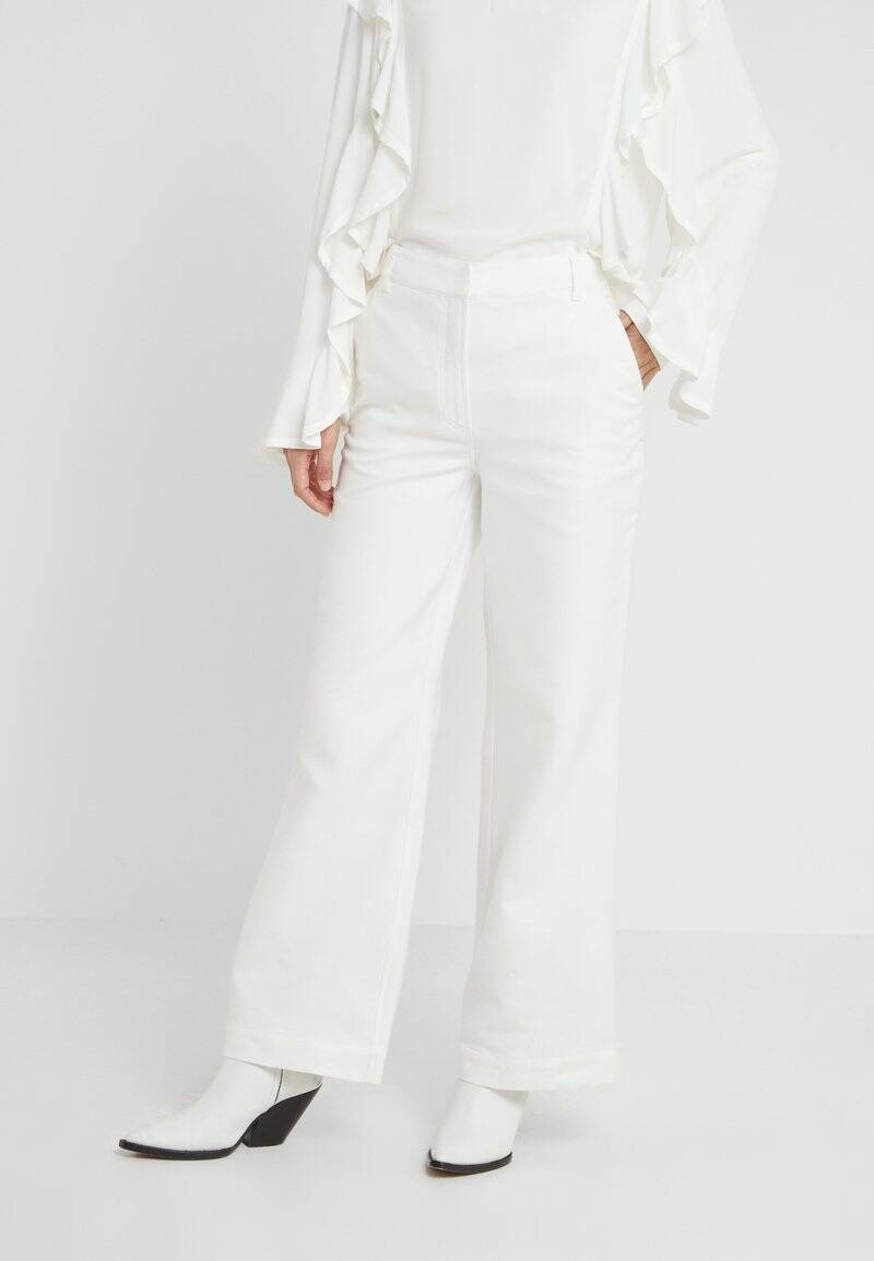 DESIGNERS REMIX LETTA PANTS WHITE
