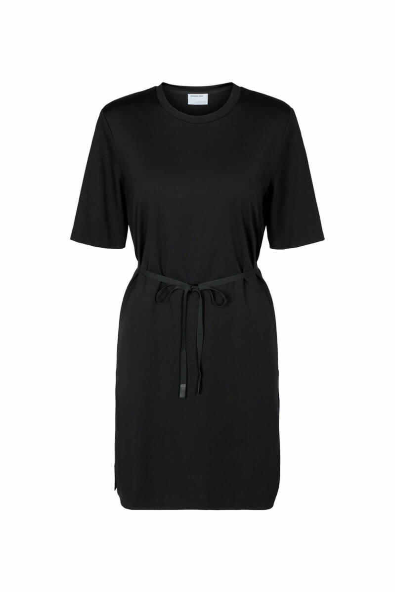 DESIGNERS REMIX MODENA SLIT DRESS BLACK