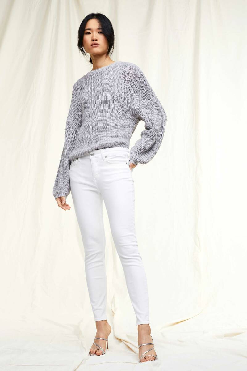 DRYKORN NEED TROUSER WHITE