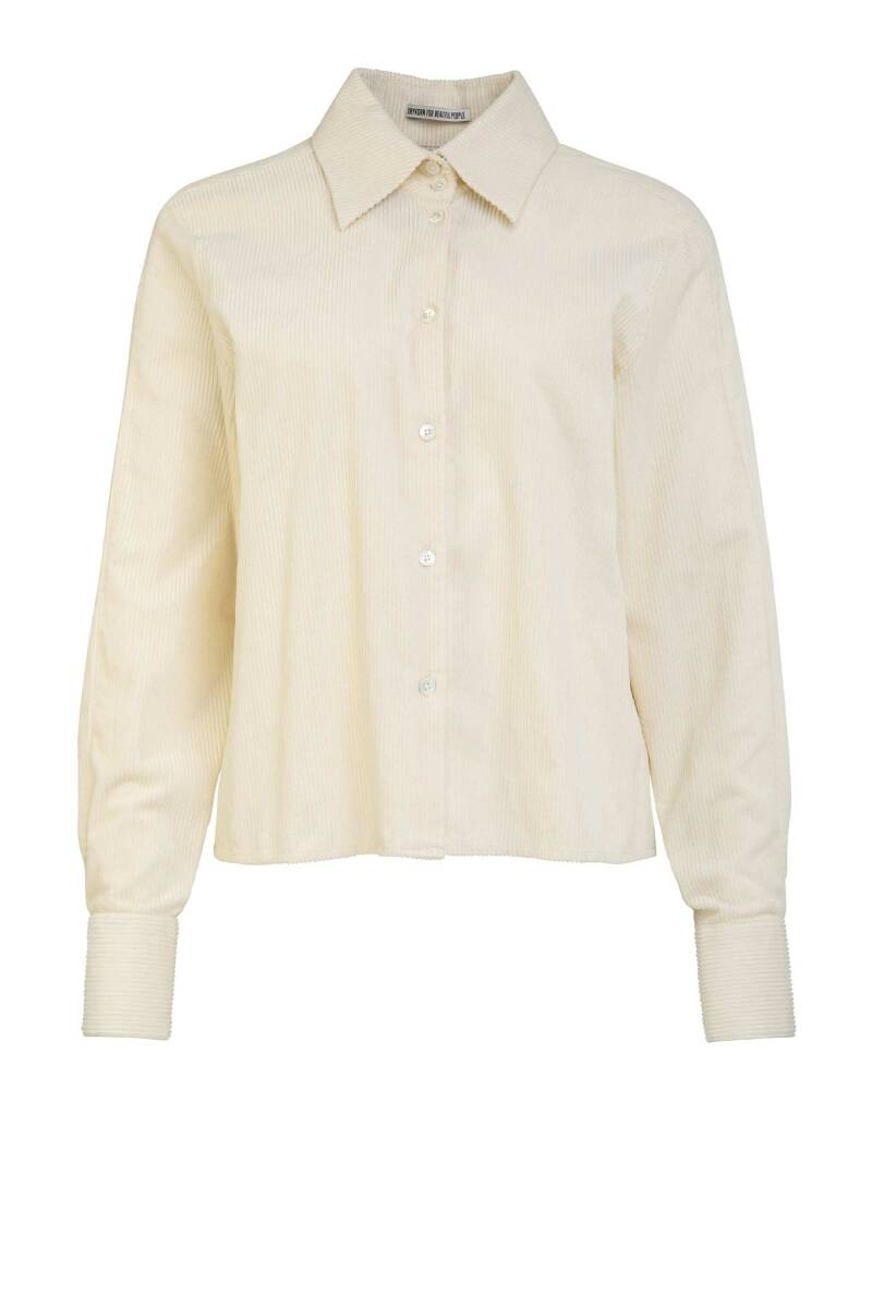 DRYKORN CARLEE BLOUSE OFF WHITE