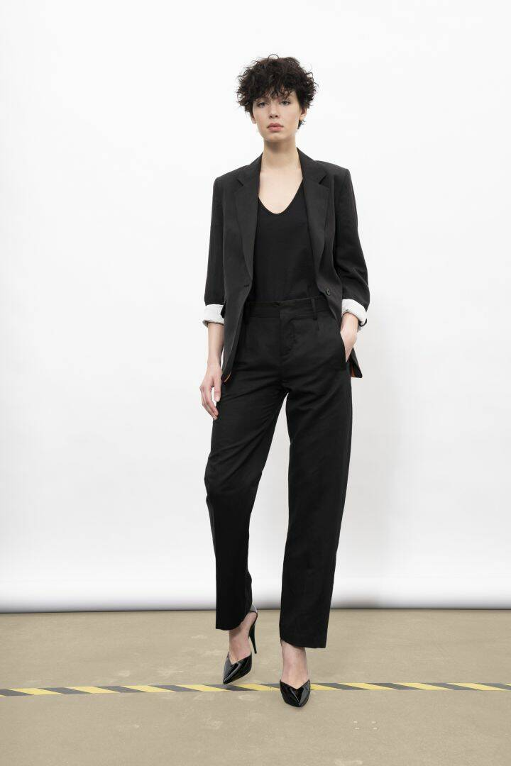 DRYKORN GORGEOUS TROUSERS BLACK