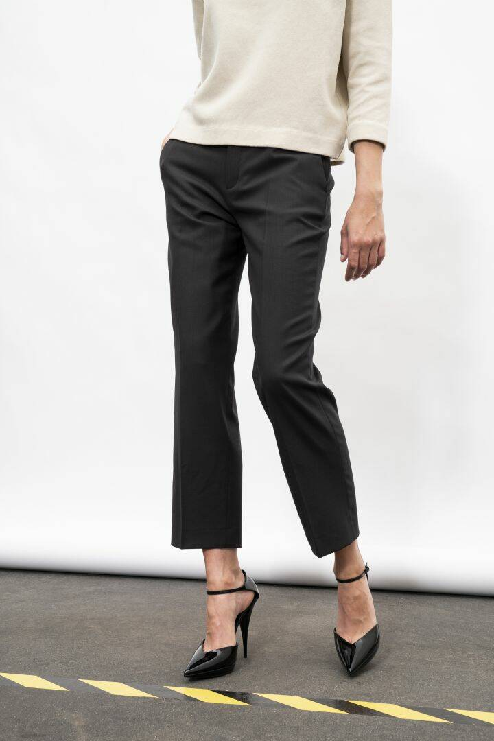 DRYKORN STUDY TROUSERS BROWN