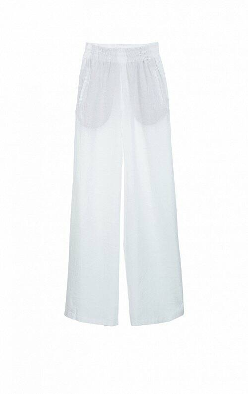 DRYKORN WINDY TROUSERS WHITE