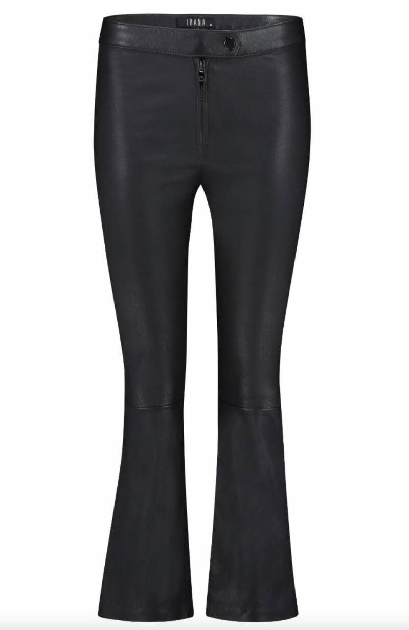 IBANA LILLY KICK FLARED PANTS BLACK