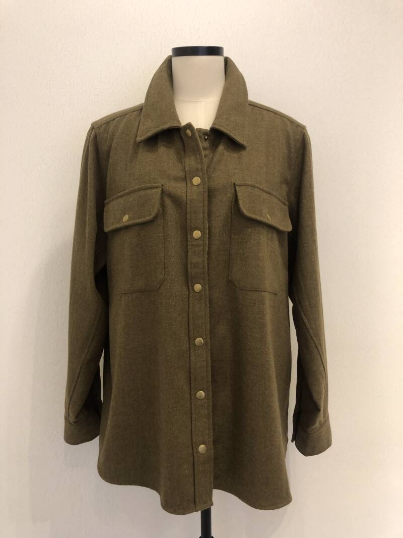 RAE ANTWERP OAK JACKET GREEN