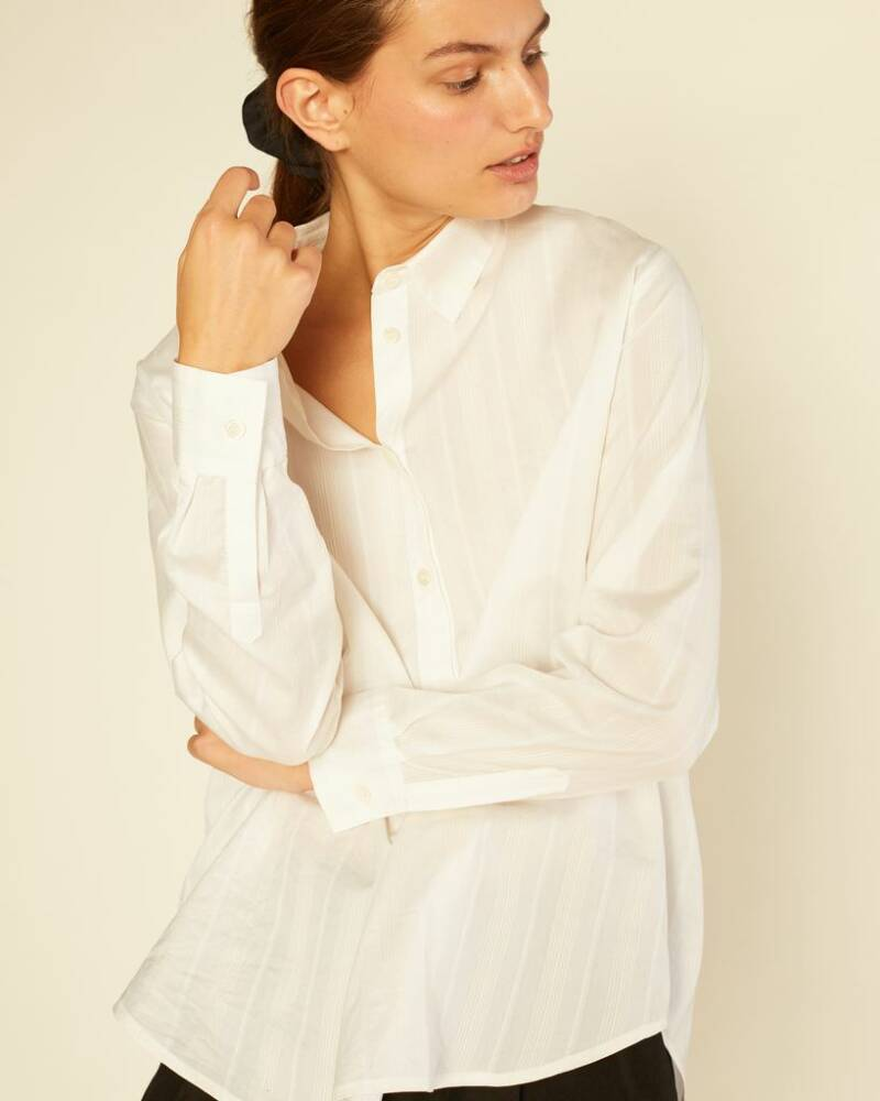 RUE BLANCHE MOON BLOUSE OFF-WHITE