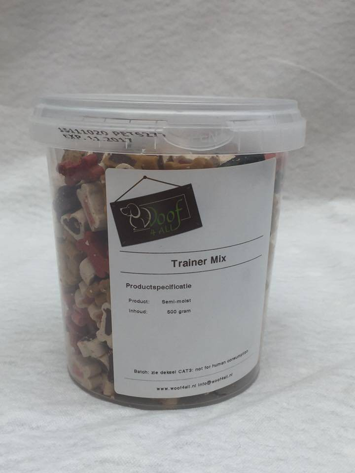 Woof 4 all trainers mix 500 gram