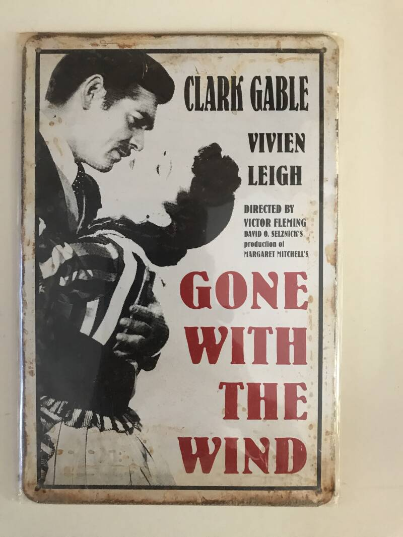 Gone with the wind..