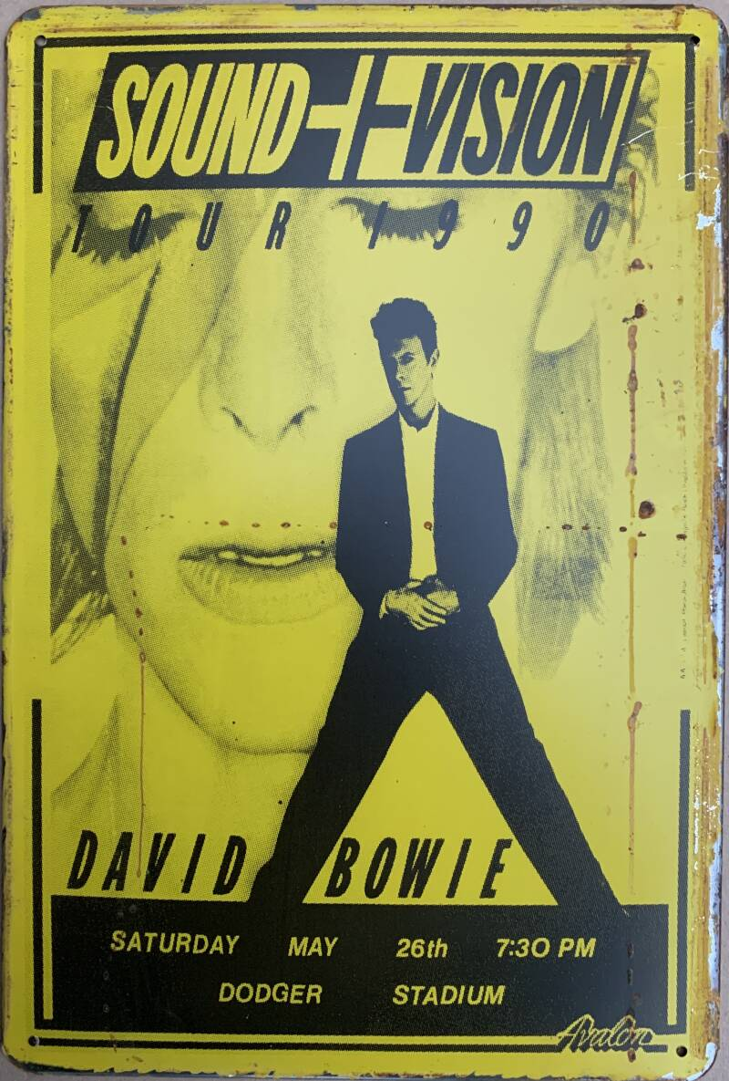 Sound and vision, Bowie