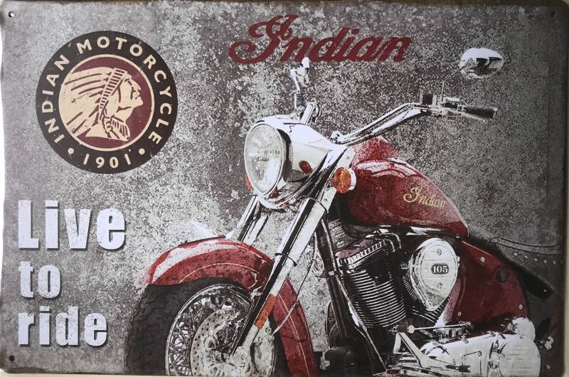 Indians: Live to ride