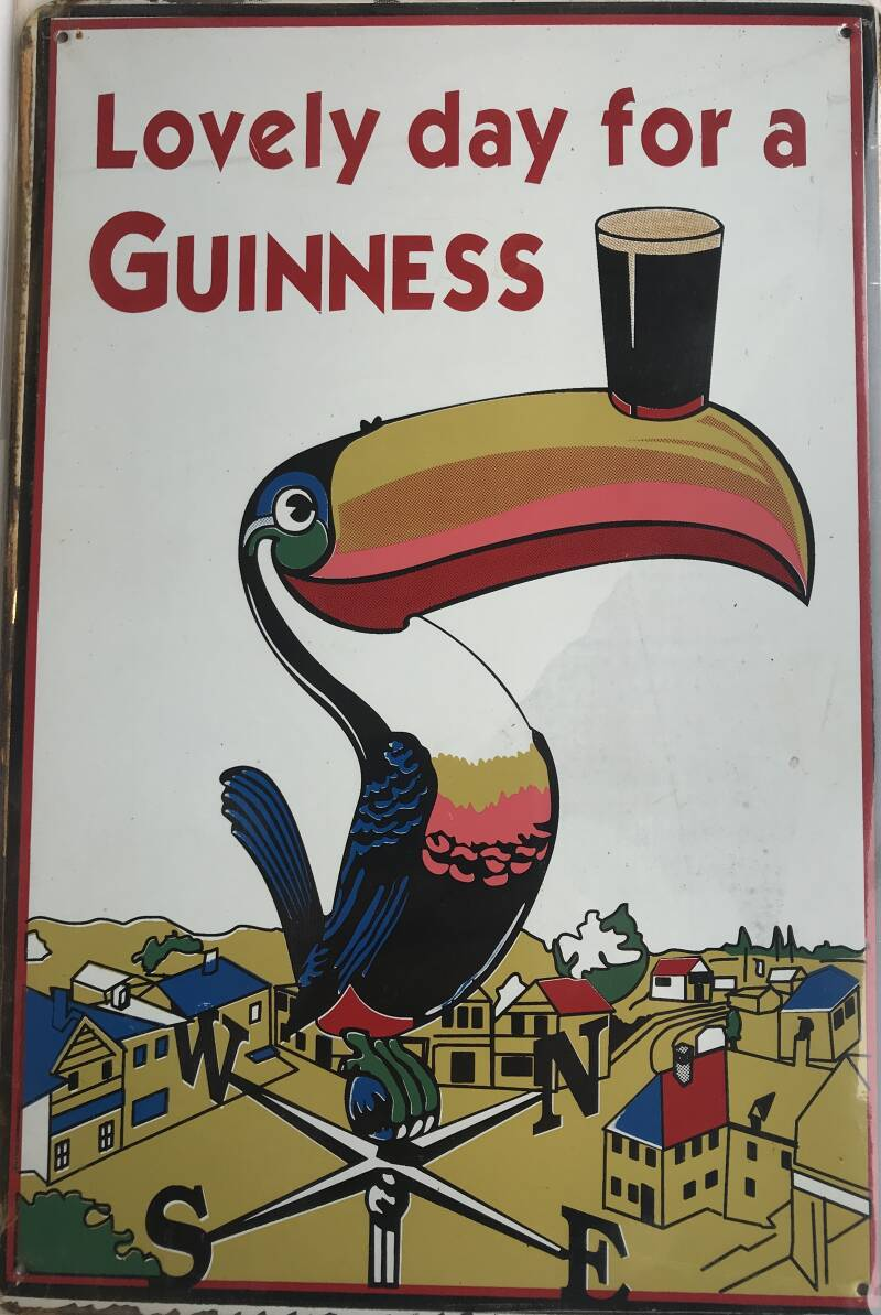 """Nog een """"Lovely day for a Guiness"""""""