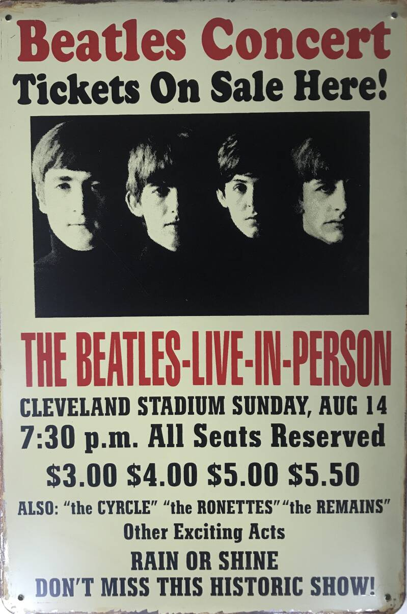 The Beatles live in person